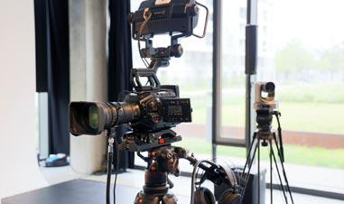 Live-Streaming Beispiel im Studio-Balan